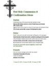 First Holy Communion & Confirmation Menu
